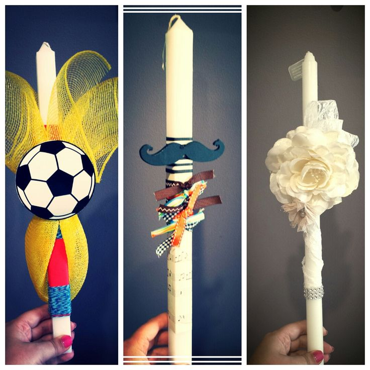Orthodox Easter/Palm Sunday Candles 2014