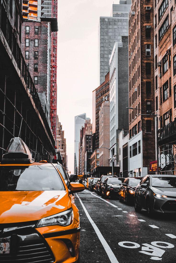 3 New York Mobile Lightroom Presets, Black and Orange