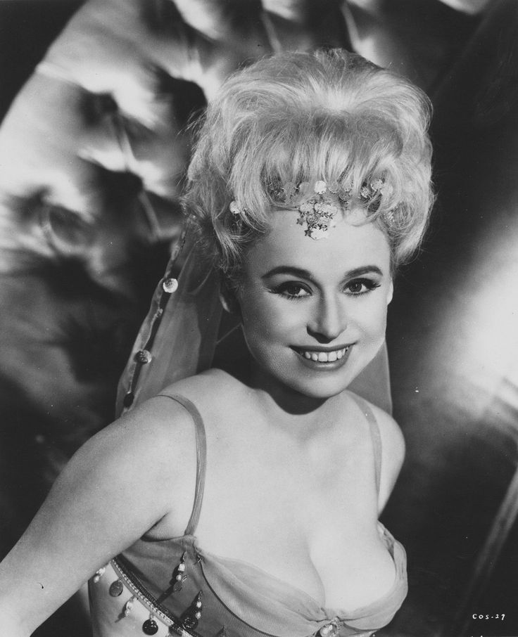 Barbara Windsor, from an early Carry On film