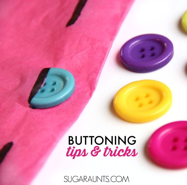 Teach Kids How To Button The Fun Way Self Help SkillsFine