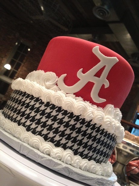 Alabama Groom's Cake- could make for any occasion minus the fancy icing