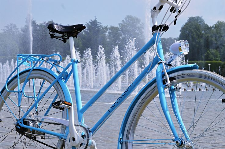 City Bike Moonlight Baby Blue by BikesBazaar on Etsy
