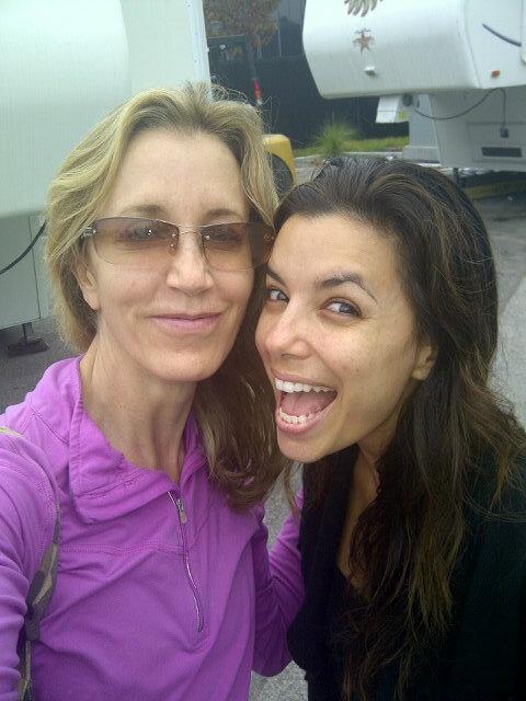 Desperate Housewives: Felicity Huffman and Eva Longoria ... ева лонгория