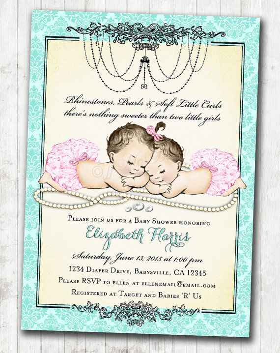 171 best baby shower invitations images on pinterest | baby shower, Baby shower invitations