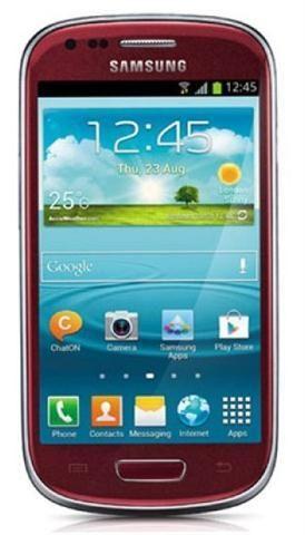 Telefon mobil Samsung I8190 Galaxy S3 Mini 8GB, Garnet Red