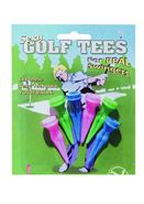 Sexy Golf Tees 4 Per Pack Assorted Colors