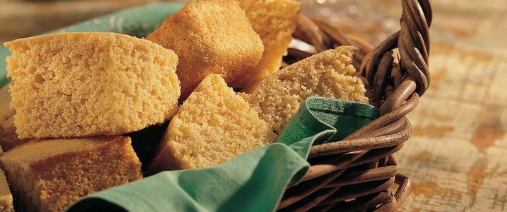 Take a break from regular bread with this fluffy cornbread that's baked to perfection.