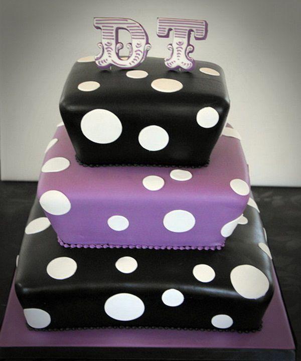 black purple wedding cakes pictures Cute Ideas, Purple Wedding Cakes unique  Wedding Cakes