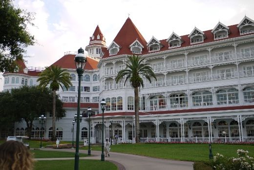 The gorgeous Grand Floridian Hotel in Disney World, the site of Food Blog Forum Orlando!