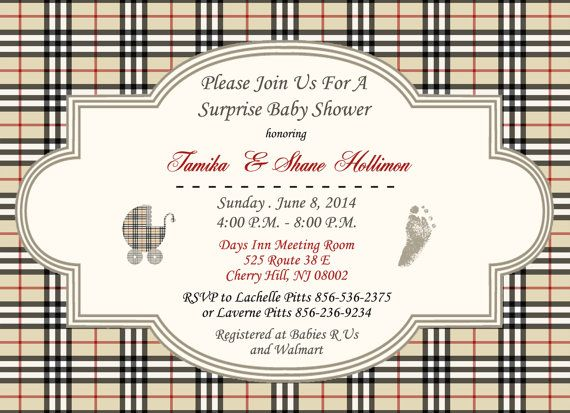 75 best images about baby shower on pinterest burberry for Where can i buy party invitations