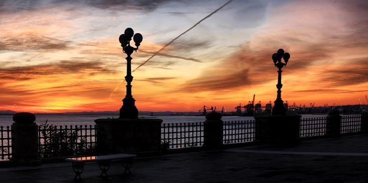 Taranto _ Tramonti d'inverno.