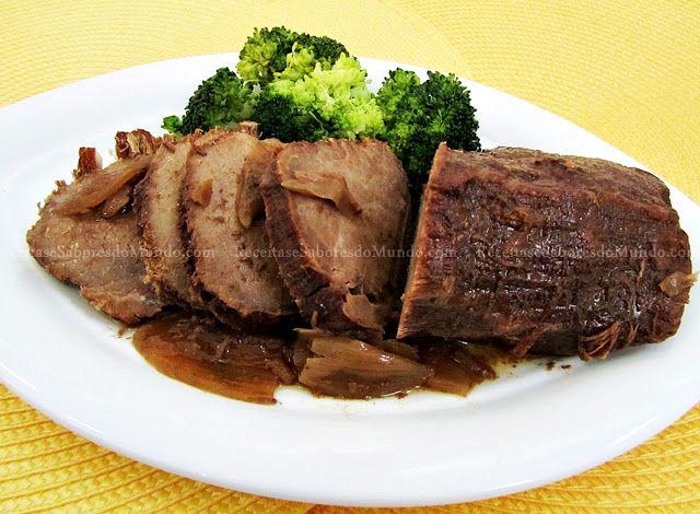 Este estufado ficou uma delicia...  A carne super tenrinha e o molho muito saboroso. Se não  tiver (Panela Elétrica Cozimento lento (cro...