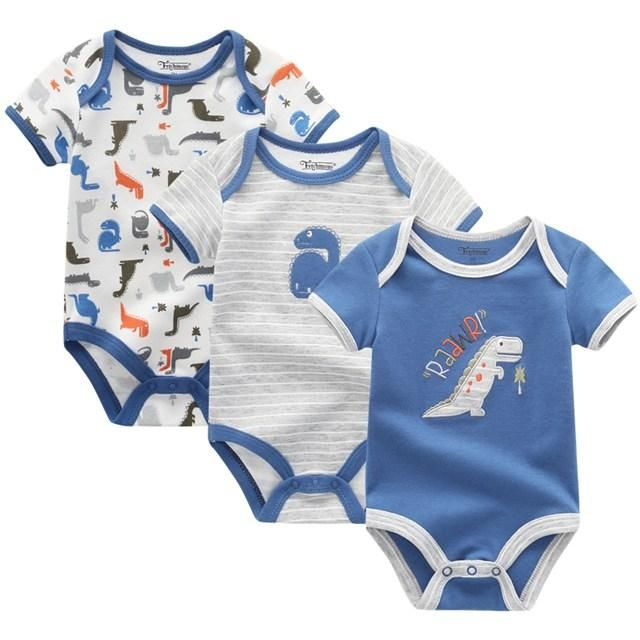 972272033be 3PCS Baby Girl Clothes Summer 2018 Baby Boys Clothing Set Newborn Overall  Boy Sayings Bodysuit
