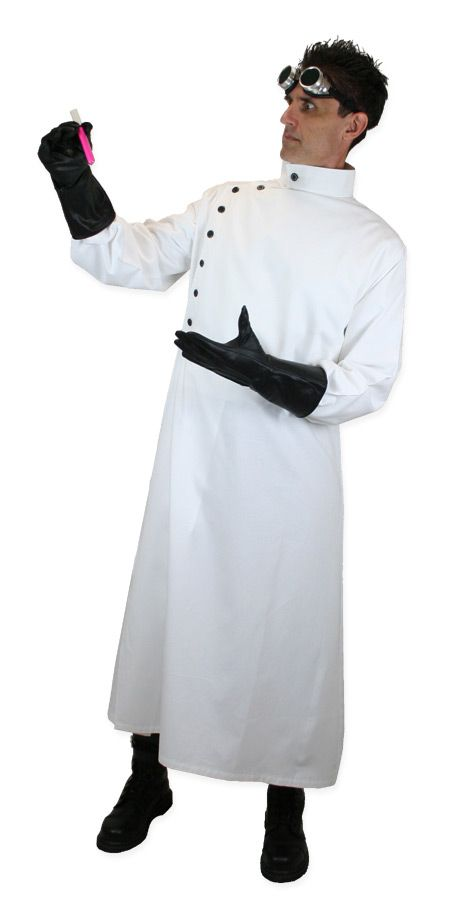 White Scientist Coat