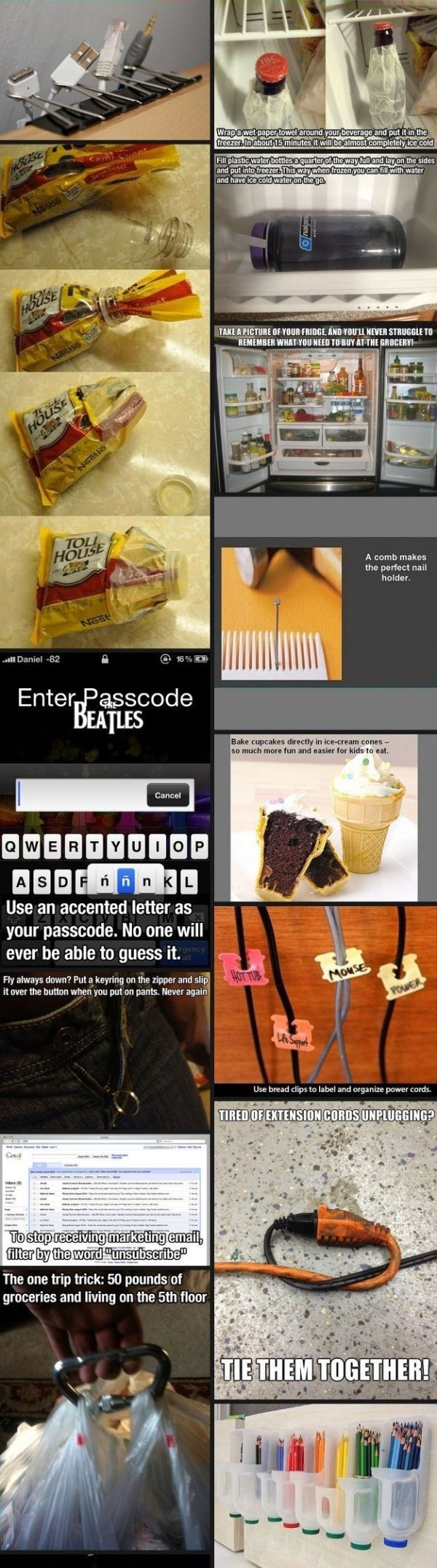 DIY Life Hacks Pictures, Photos, and Images for Facebook, Tumblr, Pinterest, and Twitter