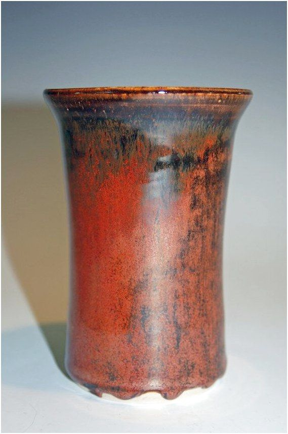 Red Pottery Vase By Nhfinestoneware On Etsy 3295