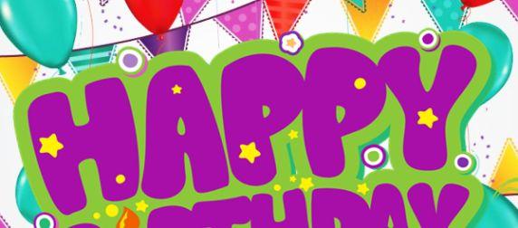 Tarjetas Gratis de Feliz cumpleaños para publicar en Facebook