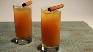 Apple Spice Fizz Recipe | The Chew - ABC.com