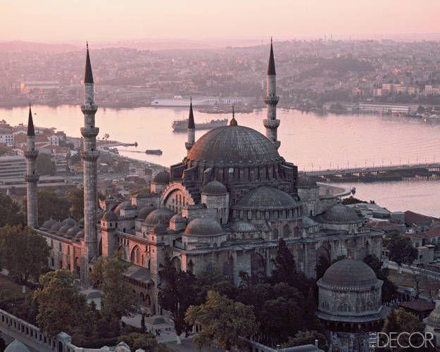 ELLE DECOR Goes to Istanbul - Süleymaniye Mosque