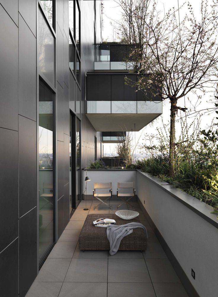 Timeless Italian Luxury Interior Design For A Penthouse At The Award Winning Residential Building Bosco Verticale