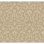 Dimensional Effects Adele Wallpaper, Silver/Grey/Ivory/White