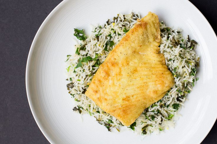 Sabzi Polo ba Mahi (Persian Herbed Rice with Fish)