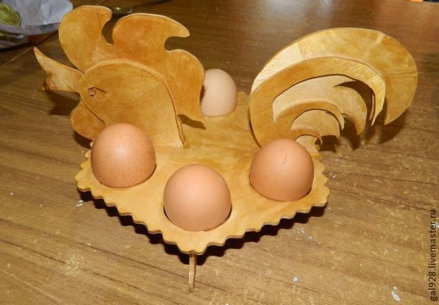 Делаем пасхального петушка (держатель для яиц) - Ярмарка Мастеров - ручная работа, handmade