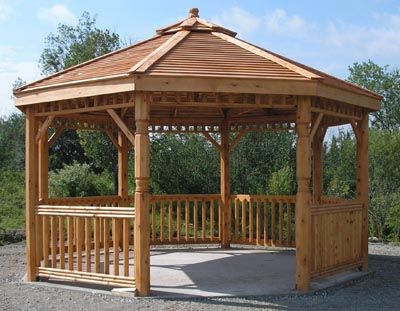 the 25 best gazebo en bois ideas on pinterest carport. Black Bedroom Furniture Sets. Home Design Ideas