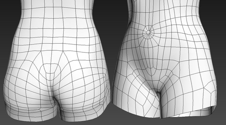Hello! I'm trying to create a female character with topology that will deform well when it comes to animation. My question is, do you think this type of topology around the pelvis is ok? Have I overcomplicated it? Most of the wireframes I've seen have been much more straightforward, but I fear that ...
