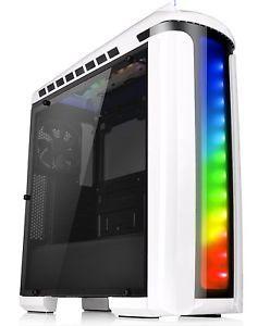 Thermaltake Versa Gaming Computer Case C22 RGB Snow Edition ATX Mid Tower CA-1G9