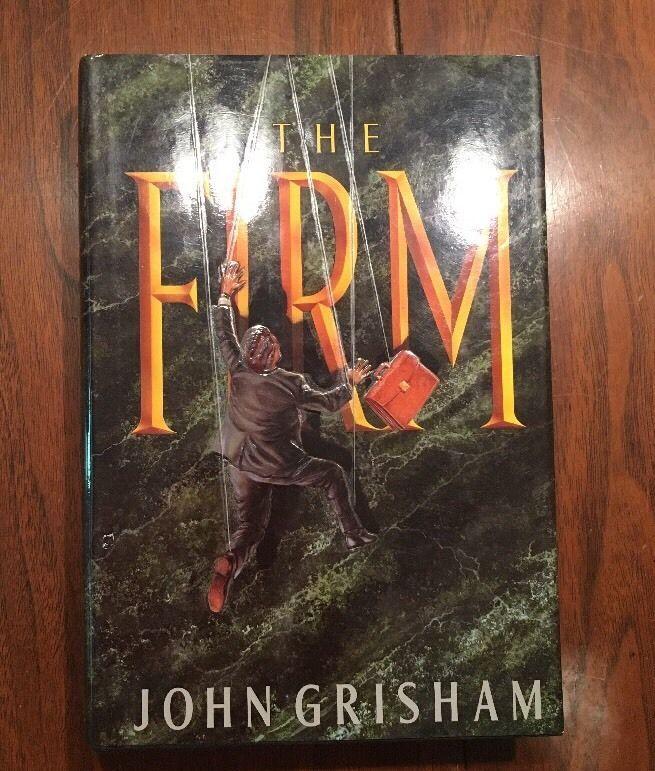 THE FIRM by John Grisham (1991, Hardcover) - SIGNED-Rare  | eBay
