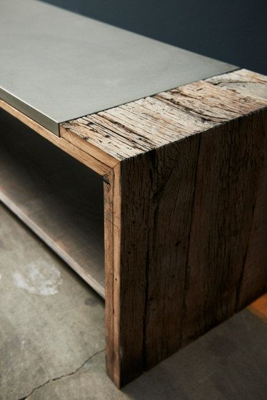 Bench de Concrete Home Design | Bancos
