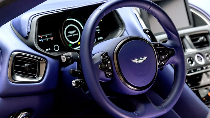 aston martin vanquish interior blue. ample power and performance is well in hand with the aston martin db11 v8 vanquish interior blue