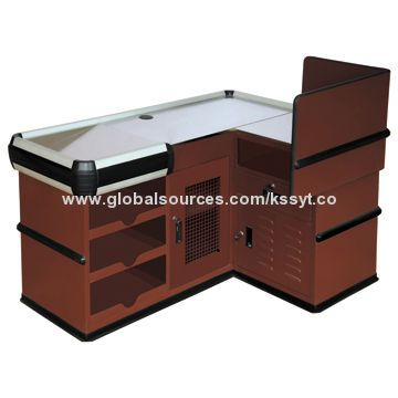 Cashier Checkout Counter, Suitable for Grocery/Supermarket, Cashier Checkout Counter Manufacturer