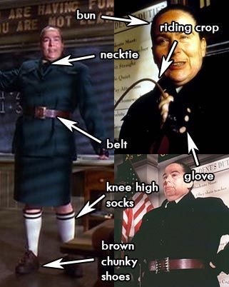 Miss Trunchbull Principal Costume from Matilda Movie