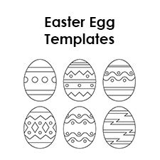Free Printable Easter Egg Templates To Help You Make Awesome Crafts Great For Kids