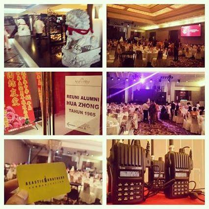 Jasa Sewa HT / Jasa Rental HT (Handy Talky) Reuni Alumni Hua Zhong At Sun City Ballroom, LTC Glodok, Jakarta Barat. 20 September 2015. Official Website : www.bbcom.id