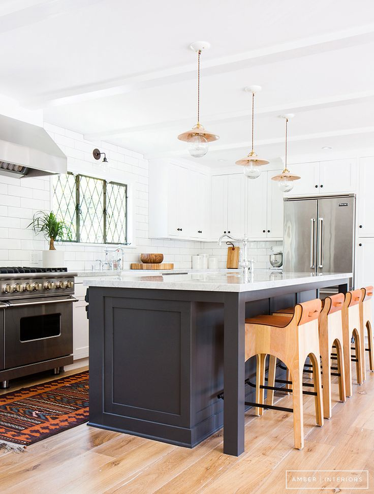 Gorgeous design inspiration for kitchens with navy