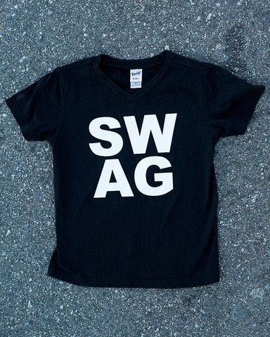 Swag kids graphic t-shirt — Cents Of Style