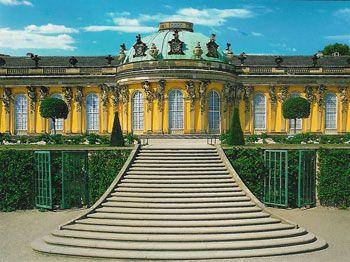 Tagesausflug Schloß Sanssouci Potsdam