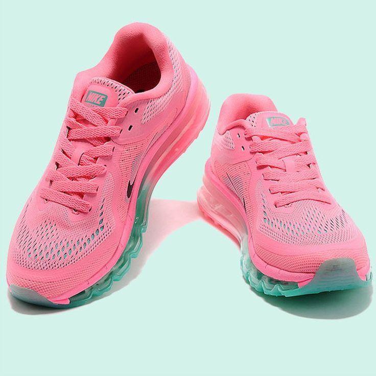 Pair of Nike Air Max Pink women