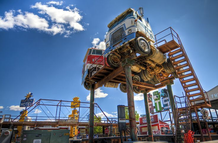 Full Throttle Saloon is a roadside attraction fanatic's dream.