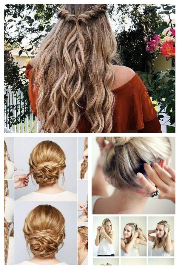 Super Easy Half Updos For Prom Easy Hairstyle Hairstyles Prom Super Easyhairstyles Easyhairstylesforteenagers Easy Hairstyles Half Updo Hair Styles