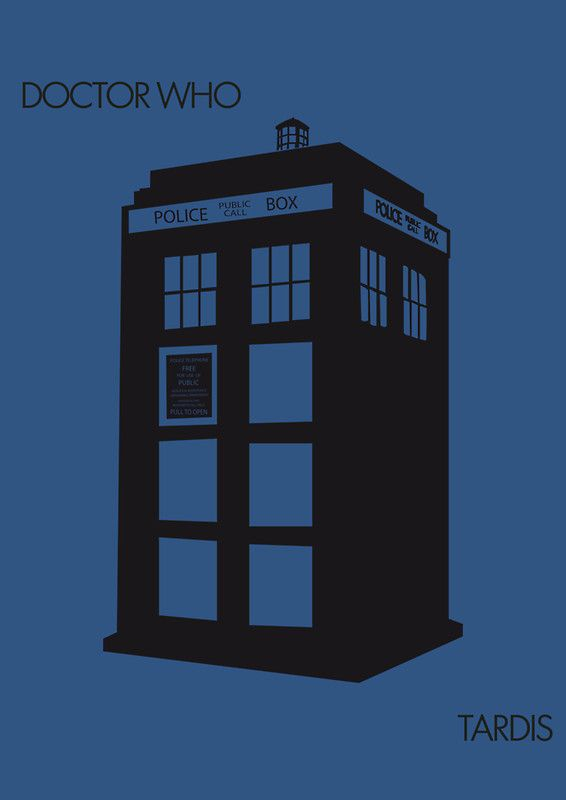 """""""Tardis"""" Posters by the-minimalist 