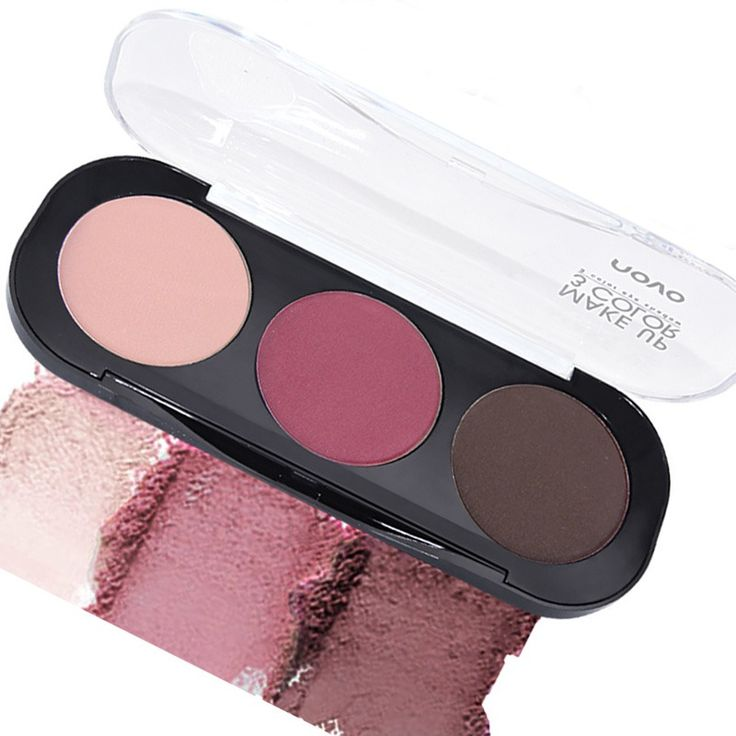3 Colors Eye Shadow Natural Cosmetic Mineral Nude Makeup Eyeshadow Palette Naked Make Up Set