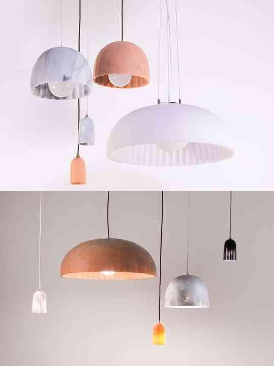 Doric Lampen Aus Naturmaterialien Natural Materials Pinterest