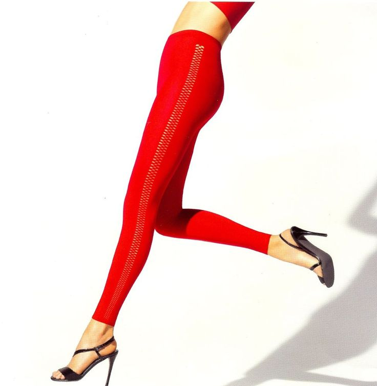 WOLFORD Legging rot, seitliches Schnürmuster,Gr. M in Kleidung & Accessoires, Damenmode, Leggings | eBay