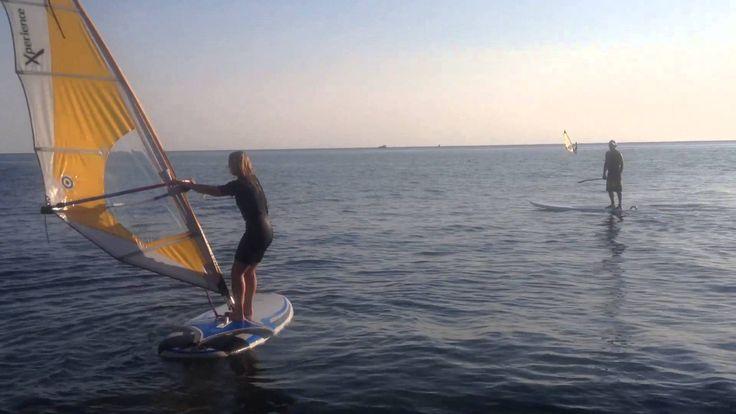 Тренировка Виндсёрфинг, SUP-сёрфинг в Сочи. MATSESTA Breeze