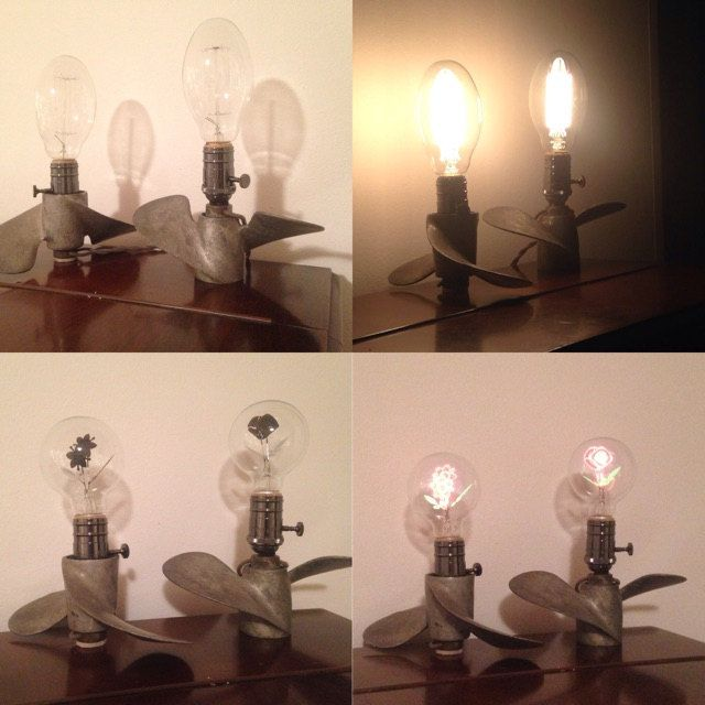 Customer Bianca in New South Wales, Australia with her custom made propeller table lamps, thanks for sharing! www.snakeheadvintage.com #snakeheadvintage #etsyshop #vintage #industrial #industrialstyle #industrialchic #light #lighting #lamp #diy #tablelamp #repurposed #upcycle #upcycled #salvaged #funkyjunk #handmade #creative #propellers #boating #nautical #nauticaldecor