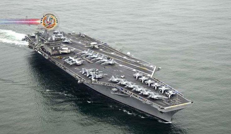 Porta-aviões USS Nimitz a caminho do Pacífico Ocidental. Os EUA estão enviando o porta-aviões USS Nimitz para o Oceano Pacífico Ocidental como uma resposta